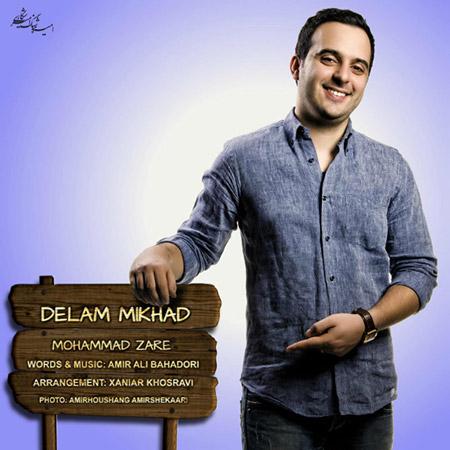 % دانلود آهنگ جدید محمد زارع به نام دلم