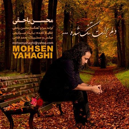 % دانلود آهنگ جدید محسن یاحقی به نام دلم برات تنگ شده