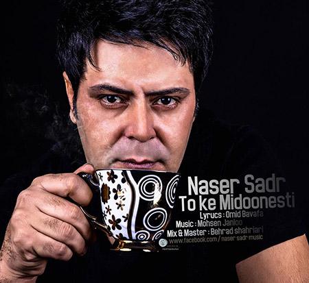 % دانلود آهنگ جدید ناصر صدر به نام تو که میدونستی