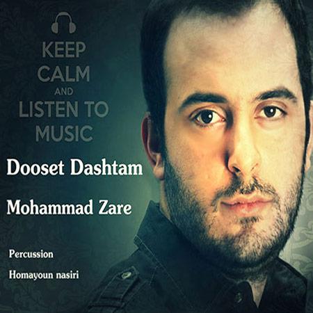 دانلود آهنگ جدید محمد زارع به نام دوست داشتم