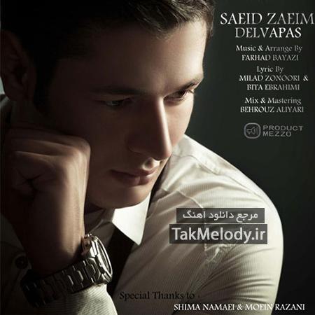 دانلود آهنگ جدید سعید زعیم