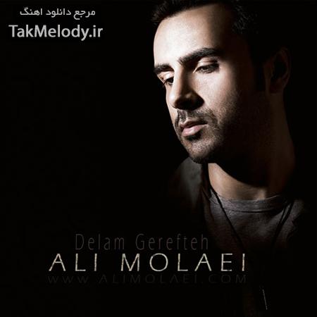 دانلود آهنگ جدید علی مولایی به نام دلم گرفته